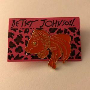Betsey Johnson Koi Fish Brooch